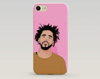 J Cole Phone Case, J Cole Iphone Case, J Cole Merch, J Cole Art, Iphone Case, Case Iphone, Popculture, Gift for teenager, Hip Hop Gift