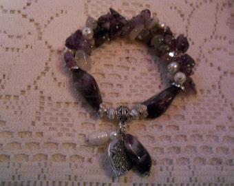 Lapis Lazuli Gem Stone harm Bracelet #906
