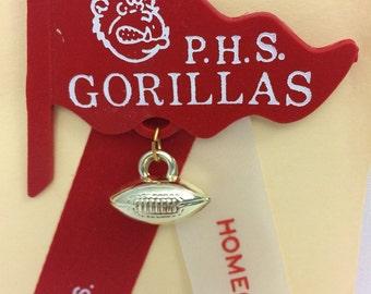 PHS Gorilla Football Homecoming Ribbon