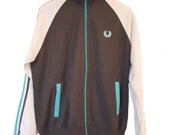 Fred Perry sweatshirt sweater 90s M track jacket
