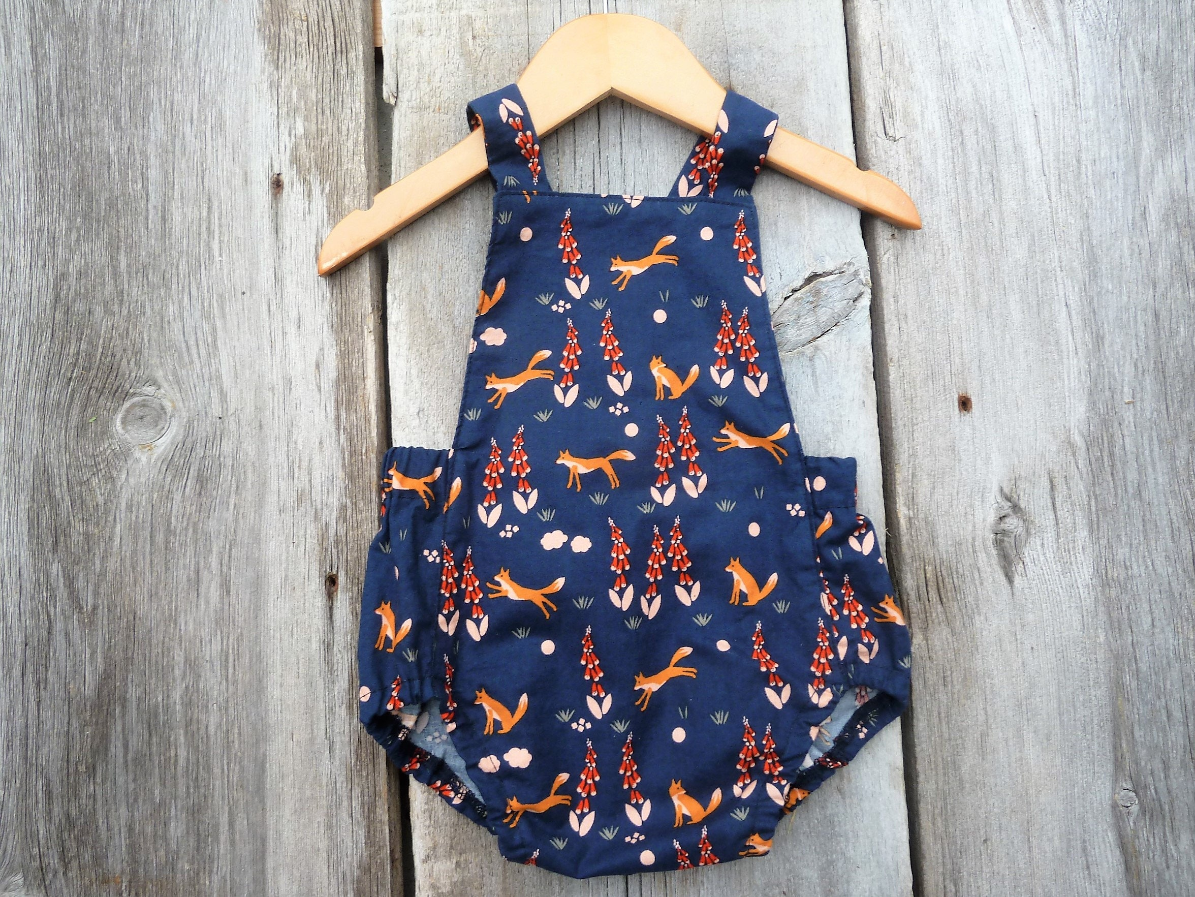 Baby romper Organic baby girls clothes baby girl romper boho baby