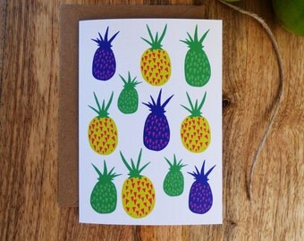 Card 'Perky Pineapples'