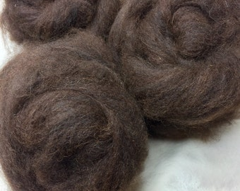 Hand Pulled Natural Color Roving