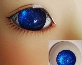 Pupilless Darkblue Doll Eyes for BJD Dollfie 8mm 10mm 12mm 14mm 16mm 18mm 20mm 22mm