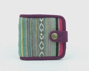Handmade Hemp/Suede Mens Wallet