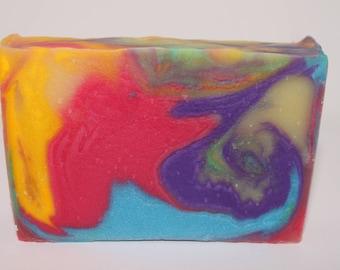 Raspberry Porter Handmade soap