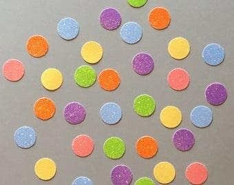Pastel Confetti Rainbow Confetti Glitter Confetti Shower Confetti Baby Confetti Wedding Confetti Birthday Confetti