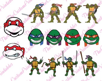 TEEN, MUTANTS, Ninja, Turtles, Mask, SVG, Cut File, Vector, Cricut Files, Silhouette Files, Cameo, T-shirt