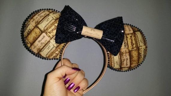 Mickey Ears, Minnie Ears, Wine Ears, Wine Mickey Ears, Wine Minnie Ears, Epcot, Epcot Ears, Ears, Disney Ears, Drinking Ears, Food and Wine