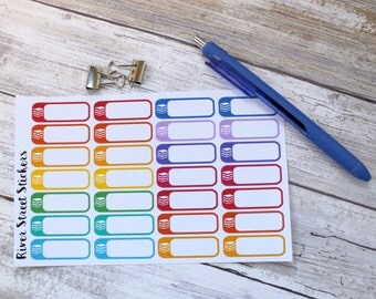 Library Books/ What are you reading Planner Stickers