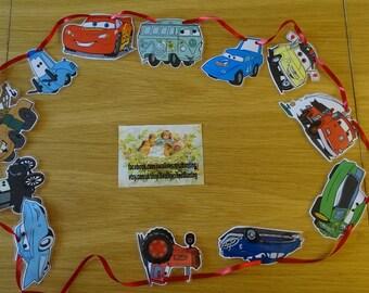 Disney Cars Bunting, cars movie