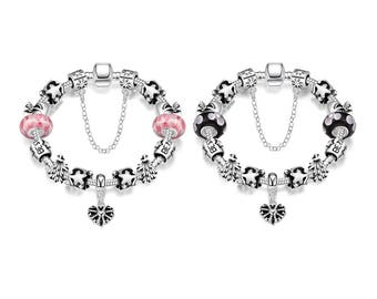 An Autamn's Night Pandora Inspired Bracelet