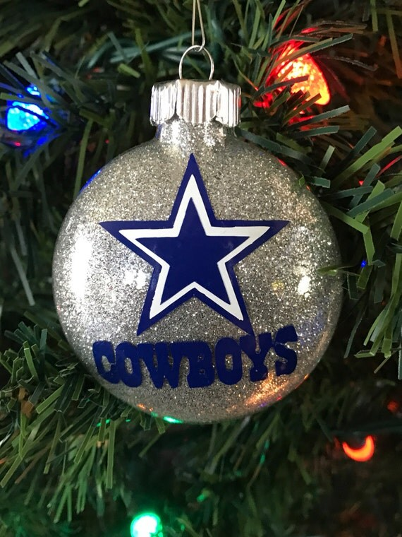Dallas Cowboys NFL Christmas Ornament