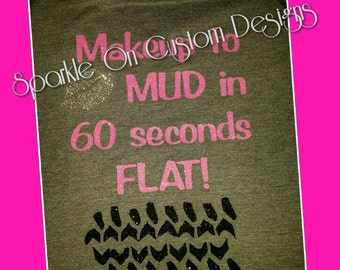 Makeup to Mud in 60 Seconds FLAT!!