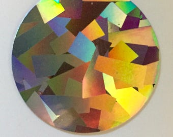 Crystal Holographic HTV, Crystal Siser Holographic Heat Transfer Vinyl, Holographic HTV, Siser Holographic Heat Transfer, Iron-on Shirt,