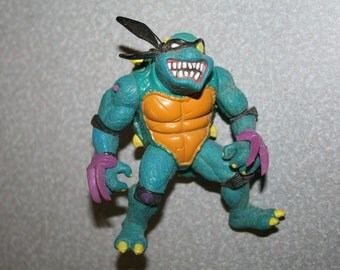 1990 TMNT Original Slash Figure Turtles Free Shipping