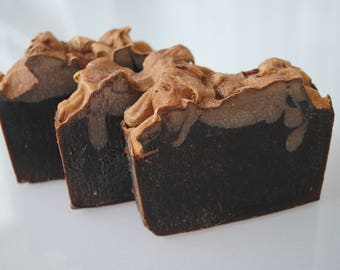 Natural Goodness Body Soap (Chocolate + Spearmint)Moisturizing,gifts,Brendadsoap.