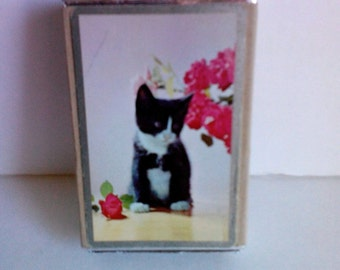 Vintage 1960s Kitty Cat Playing Cards