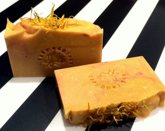 MY PRECIOUSSS - golden natural soap with goats milk