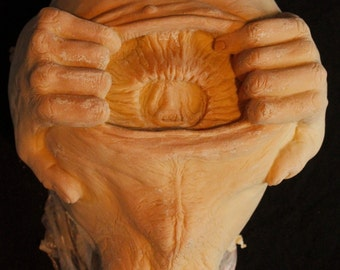 Spread Um Latex Blank Casting, Mask Or Display Prop For You To Paint