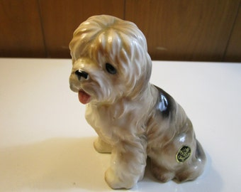 Josef Originals Vintage 1982 Mama English Sheep Dog Figurine Made In Japan