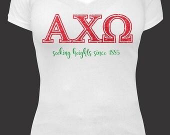 Greek Line : Alpha Chi Omega Shirt - ΑΧΩ