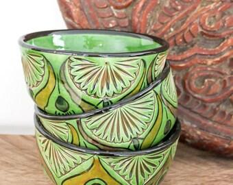 Traditional moroccan handmade bowl