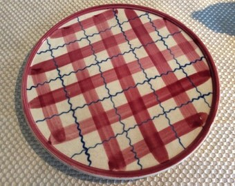 Vintage Teapot under plate or dessert cookie plate