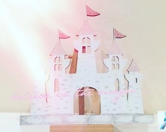 Castle door etsy for Princess fairy door