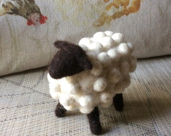 Needlefelted handmade sheep
