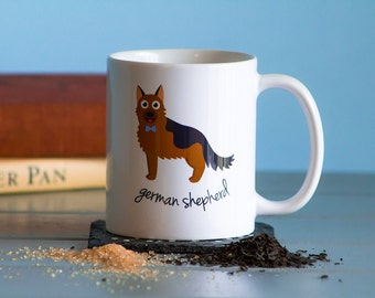 German Shepherd Mug (boy)