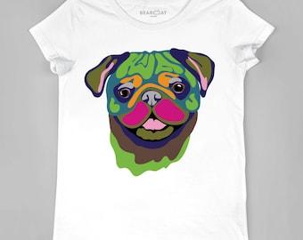 Pug women t-shirt