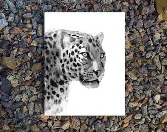 Leopard Print, Printable Art, digital art, Wall Art, Wall Decor, Digital Download, animal print, white and black printable art, Leopard