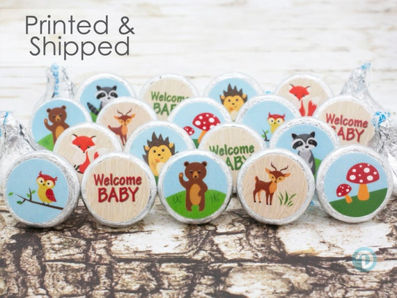 woodland animals baby shower favors woodland animals baby shower
