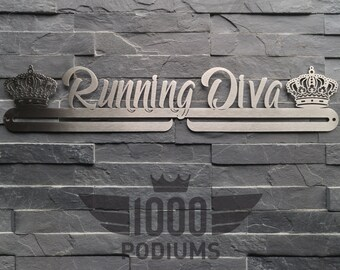 IMPERFACT ITEMS SALE Medal Rack - Running Diva
