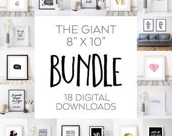 8' x 10' Instant Download Print Bundle, Download Print Special Offer Bundle, 18 DIGITAL DOWNLOADS