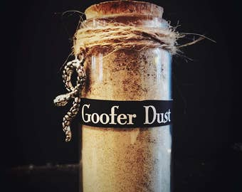 Goofer Dust - Hoodoo Voodoo, Witchcraft, Wicca, Pagan- Ritual Powder