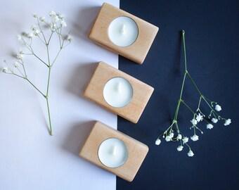 SALE! - Tea light candle holders - Set of 3