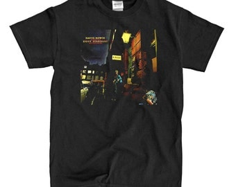 David Bowie - The Rise And Fall Of Ziggy Stardust And The Spiders From Mars - Black T-shirt