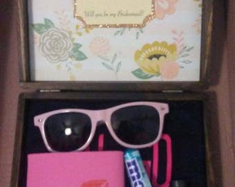 Wedding Party Gift Box