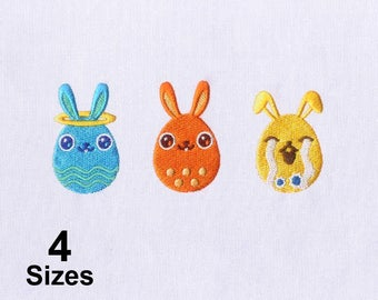 Personality Induced Easter Eggs Embroidery Design
