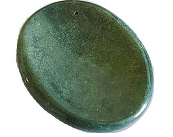 Green Bloodstone ~1 - 1 3/4""