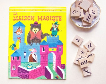 french Vintage Children's Book: the magic House / Wise Brown & J.P.Miller (1970)