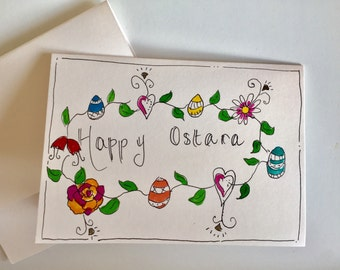 Ostara card // Pagan Easter card // Wiccan Easter card // Druid Easter card // Witches Easter card