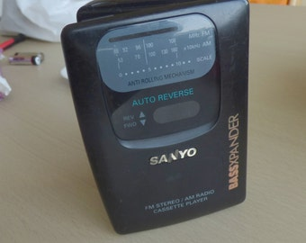 vintage SANYO MGR 730 rare full work