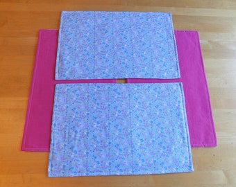 Spring Bunny Placemats - Set of 4