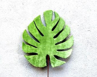 Tropical Leaf, Monstera Leaf, Monstera, Fabric Leaves