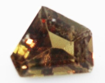 Triphylite 0.919cts Fancy Cut 6.90 x 6.50mm Y0323 Loose Gem Faceted Gemstone Jewelry Making Rare Gemstone