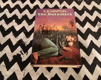 The Outsiders by S. E. Hinton (Ex-Library, Hardcover, 1967)