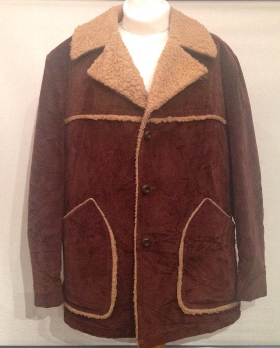 Vintage 70's mens jacket EV10